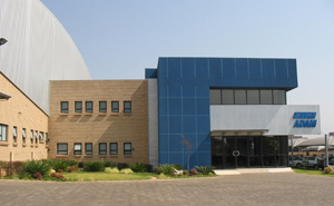 Picture of AE Adam's factory in South Africa