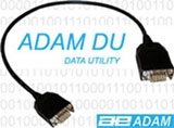 small images of a serial lead contains the text Adam DU data utility